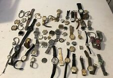 Lot of 64 Vintage & Modern Timex & Other Brand Watches-As-is, Free Shipping