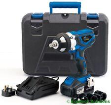"Draper 82983 20V 1/2"" Drive Cordless Impact Wrench Gun with 2 Li-ion Batteries"