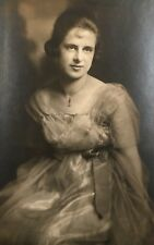 1910's Pretty Beautiful Young School Girl Lady PHOTO Photograph
