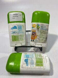 Babyganics Kids SPF 50+ Sunscreen Sticks All Mineral Active Ingredients Set Of 3
