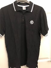 MG BLACK POLO SHIRT Fruit Of The Loom NEW! SIZE LARGE
