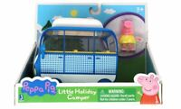 Peppa Pig Blue Little Holiday Camper Toy