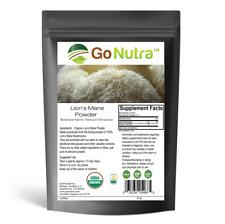 Lion's Mane Mushroom Powder Organic | Pure Lion's Mane Extract Powder 8 oz. (226