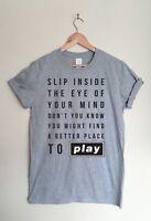 Oasis Music Rock n Roll Lyrics T-shirt Fan Inspired Song Tee Shirt - Liam Noel