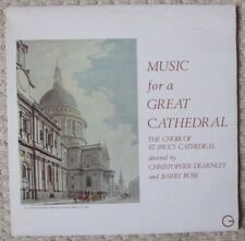 ST. PAUL'S CATHEDRAL CHOIR - Music For A Great Cathedral - Dearnley / Rose - LP