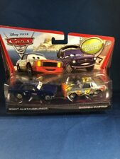 Disney Pixar Cars 2 Darrell Cartrip Woth Exclusive Vehicle Brent Mustangburger