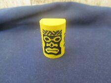 Gamewright Tiki Topple game wooden replacement piece yellow Huhu