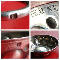 Taste vin argent massif Beaune 1902 Jeanne Robelin, Minerve 1 er titre .