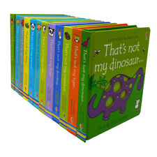 That's not my.. Toddlers 12 Books Collection Set (Kitten,Goat, Tiger, Meerkat..)