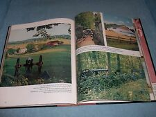 1956 Hard Cover THE U.S.A. IN COLOR  By: The Editors of HOLIDAY; Lovely Photos