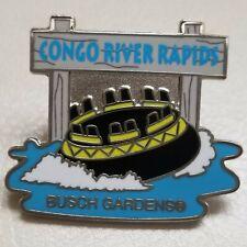 Busch Gardens Tampa Congo River Rapids Ride Trading Pin
