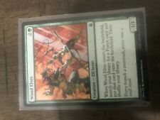 Wood Elves Commander Anthology NM Green Common MAGIC GATHERING CARD