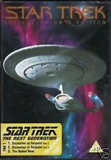 STAR TREK THE NEXT GENERATION TNG 1  COLLECTOR'S ED DVD - FREE POST IN UK