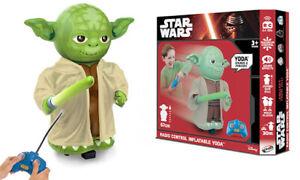 Star Wars Disney Radio Control Inflatable Yoda (3+) - NEW