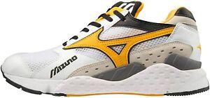 Mizuno Mens Mondo Control Sportstyle Trainers Sneakers White Yellow