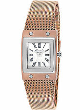 NEW Kenneth Cole KC4946 Women's Rose Gold Stainless Steel Watch
