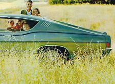 1968 Ford Brochure: MUSTANG,GT,THUNDERBIRD,TORINO,GALAXIE,FALCON,500,LTD,XL,2+2