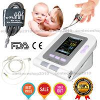 CONTEC08A Neonatal Infant BP Monitor SPO2 Blood pressure 6-11cm Cuff pc software