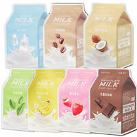 [A'PIEU] Milk One Pack Mask 7 Types * 1/3/5/7/10 sheets - 21g