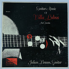 Guitar Music of Villa Lobos & Torroba/Julian Bream - Westminster XWN 18137 NM