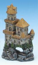 Brass Castle Mini Aquarium Ornament - 4 in - RRW5D - Penn Plax