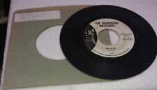 """RIGHTEOUS BROTHERS 45-""""THE BLUES/JUST ONCE IN MY LIFE"""" PROMO DJCOPY 1965 SPECTOR"""