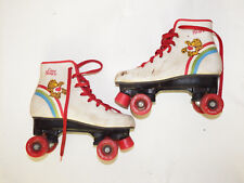 Vintage 1983 Care Bears Roller Skates - Youth Child's Size 3 ~American Greetings