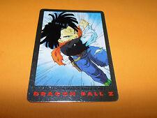 N°97 C. 17 CARD DRAGON BALL Z SERIE 2 1989 BIRD STUDIO SHUEISHA TOEI