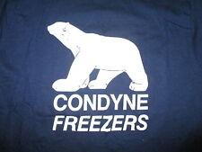 vtg 80s 90s CONYNE FREEZERS POLAR BEAR T SHIRT Commercial Cold Storage Avon MA M