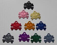 Médaille PIRATE gravée pour animaux chien moyen et grand - 10 couleurs