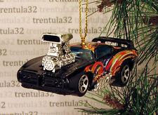 THE JUDGE '69 PONTIAC GTO 1969 BLACK HOT ROD DRAGSTER CHRISTMAS TREE ORNAMENT