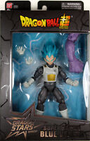 Dragon Stars Series 4 ~ SUPER SAIYAN BLUE (SSGSS) VEGETA ACTION FIGURE ~ DBZ