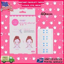 40 pieces Set Instant Face Neck Eye Face lift Tape V Shape Facelift Antiwrinkle