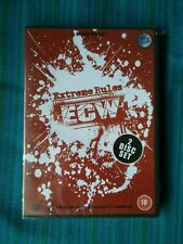 ECW EXTREME RULES - UK SILVERVISION 2 DISC DVD - NEW & SEALED - WWE - WWF - WCW