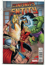 The Infinity Entity #1 NM VARIANT Edition  Marvel Comics CBX40
