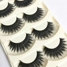 Long Lasting Black False Eyelashes Multi-layer 3D Fake Thick Extention