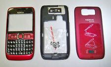 Red housing cover fascia facia faceplate case for Nokia E63