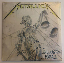 Metallica - And Justice For All - Factory SEALED 1988 US Album Elektra 60812-1