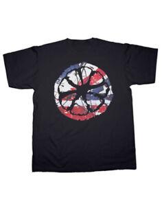 Stone Roses Lemon Waterfall Print T Shirt