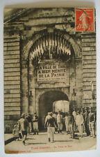 CPA VOYAGEE TIMBREE 1915 TOUL LA PORTE DE METZ MEURTHE ET MOSELLE 54 - SOLDATS