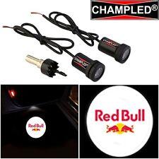 LED Projector Logo Emblem Symbol Sign Badge Under Door Step light Car RED BULL