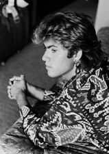 George Michael in Black + White. Photo / Poster. A4 Studio Quality. Fast  UK.