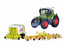 Kibri 12233 FENDT Traktor mit Anbaugeräten, Bausatz, Spur H0