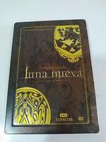Crepuscolo - luna Nuovo - 3 X DVD Castellano Inglese - Ed Collezzionista