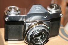 Zeiss Ikon Contaflex I 35mm SLR Camera + Case - Good Condition - Fully Working.