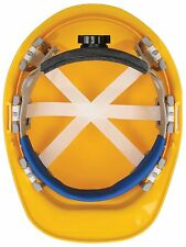 New Erb Safety Replacement Brow Blue cushioned Pad Hardhats 1 Size Fit Hard Hats