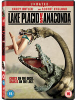 Lake Placid Vs Anaconda DVD (2015) Corin Nemec, Stone (DIR) cert 15 ***NEW***