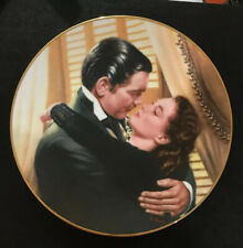"""Gwtw Gone With The Wind Plate """"Marry Me Scarlett!"""" First Issue"""