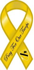 "8"" PRAY FOR OUR TROOPS 1st Cavalry Division Awareness Car Ribbon Magnet"