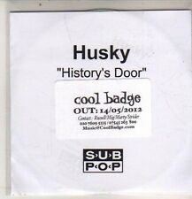 (DB889) Husky, History's Door - 2012 DJ CD